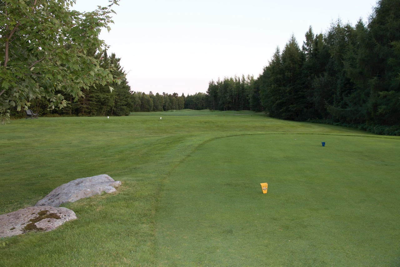 Golf Belvedere trou 14