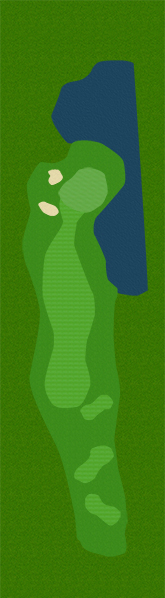 Golf Belvédère trou 16