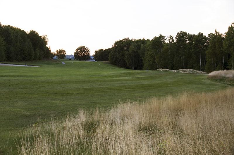 Golf Belvédère trou 18