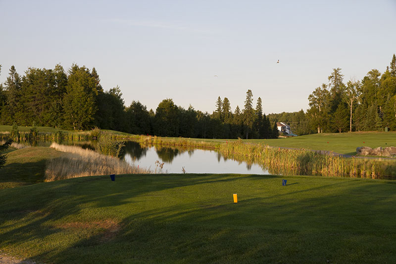 Golf Belvédère trou 3