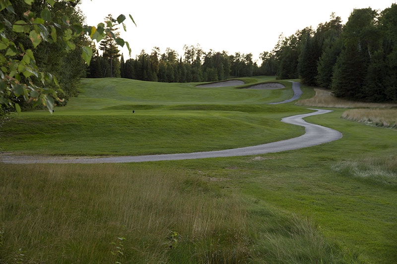 Golf Belvédère trou 7